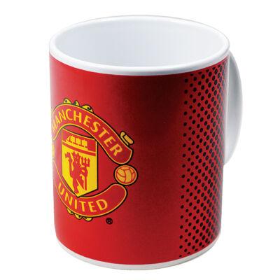 Manchester United kerámia bögre FADE