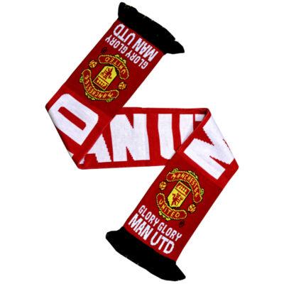 Manchester United kötött sál GLORY