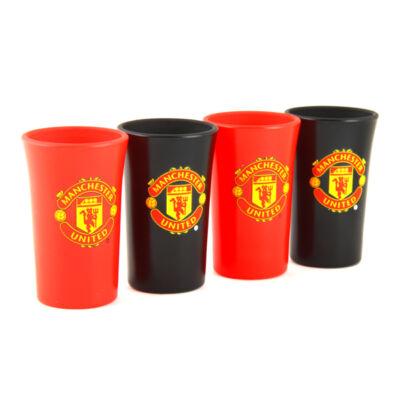 Manchester United színes rövidital készlet (4 részes)