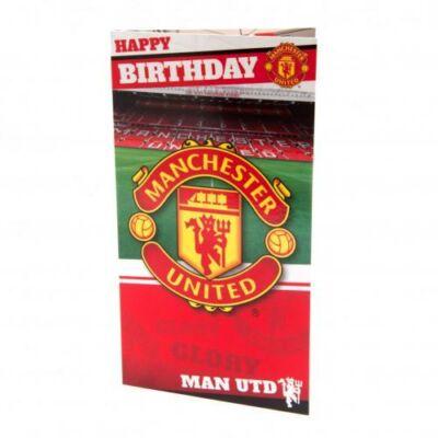 Manchester United születésnapi kártya