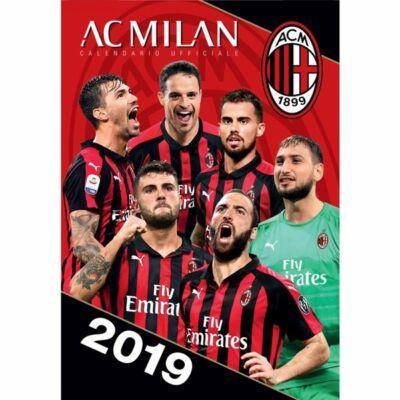 AC Milan fali naptár 2019