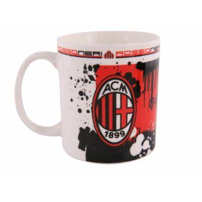 AC Milan kerámia bögre ROSSONERI