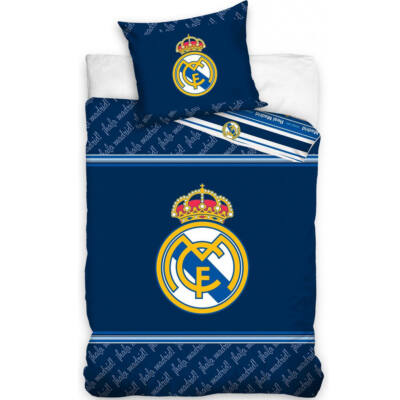 Real Madrid ágynemű paplan-és párnahuzat AZUL