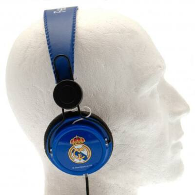 Real Madrid címeres fejhallgató