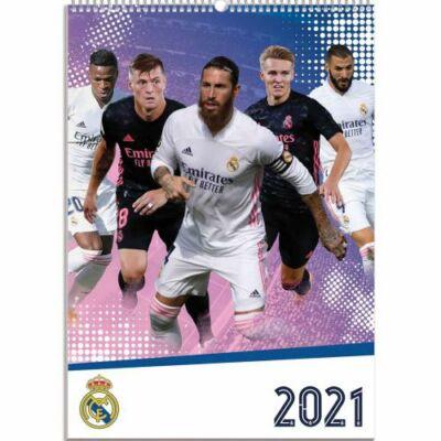 Real Madrid fali naptár 2021