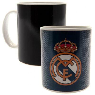 Real Madrid hőre változó kerámia bögre GERY