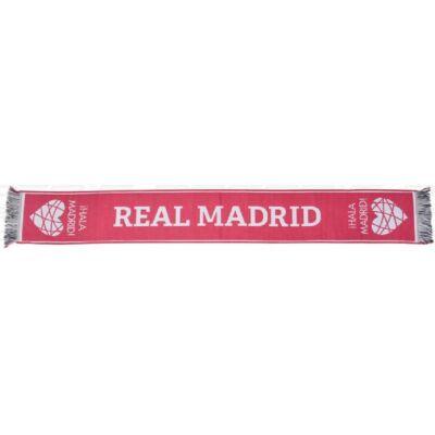 Real Madrid kötött sál FUCSIA