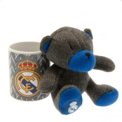 Real Madrid kerámia bögre plüss mackóval