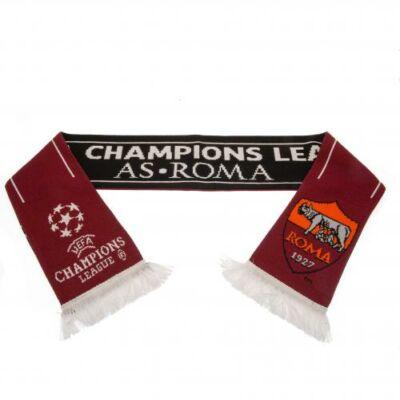 AS Roma kötött sál CHAMP