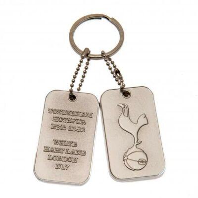 Tottenham Hotspur dögcédula kulcstartó